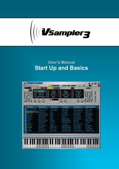 cakewalk vsampler 3 user s manual midi manuals rh yumpu com cakewalk sonar platinum user manual cakewalk sonar platinum user manual