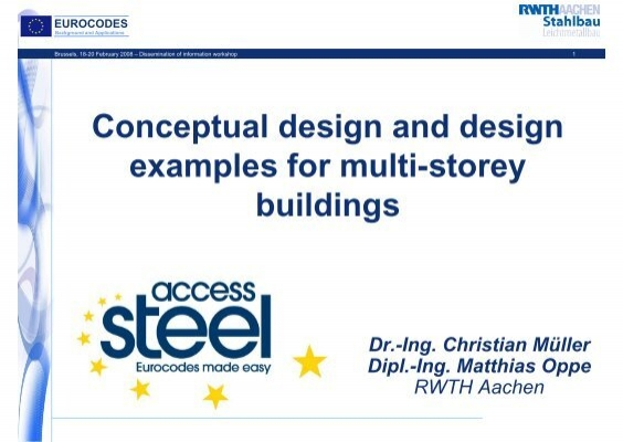 conceptual design and design examples for multi eurocodes