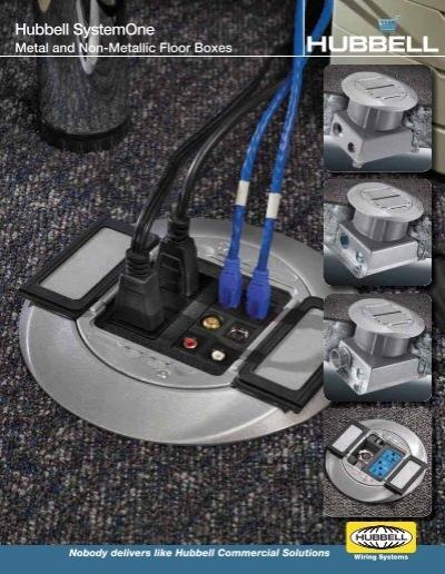 Hubbell System One Floor Box Floor Matttroy