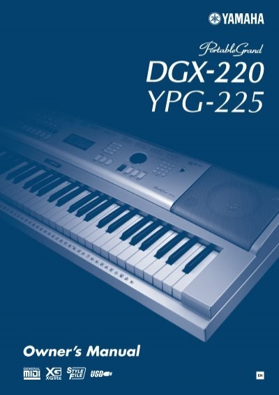 dgx 220 ypg 225 owner s manual yamaha rh yumpu com yamaha ypg 625 manual pdf yamaha ypg-635 manual english