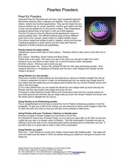 Metallic Effect Powder for FIMO Clay Salmon