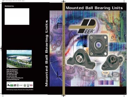 """UCFT209-26 1-5//8/"""" 2 Bolt Flange Mounted Bearing Unit FK Brand"""