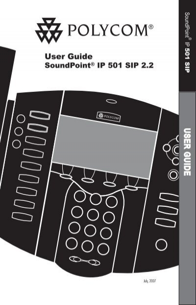 soundpoint ip 501 user guide polycom support rh yumpu com polycom soundpoint ip 501 sip manual Polycom SoundPoint Pro