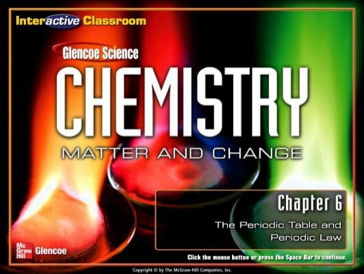 Chapter 6 Periodic Table Lecture Notespdf