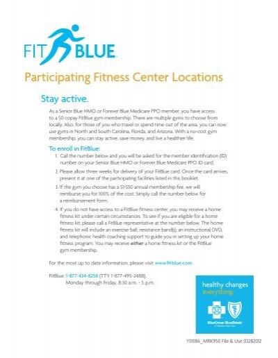 blue cross blue shield ppo gym membership