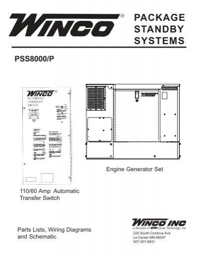 60701 095 parts list pss8000p winco generators swarovskicordoba Gallery