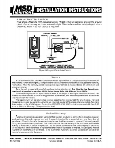 msd promag 44 kill switch wiring diagram   40 wiring