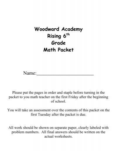 7th grade math practice pdf
