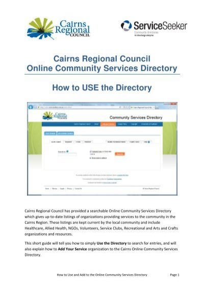 directory of community services - Monza berglauf-verband com