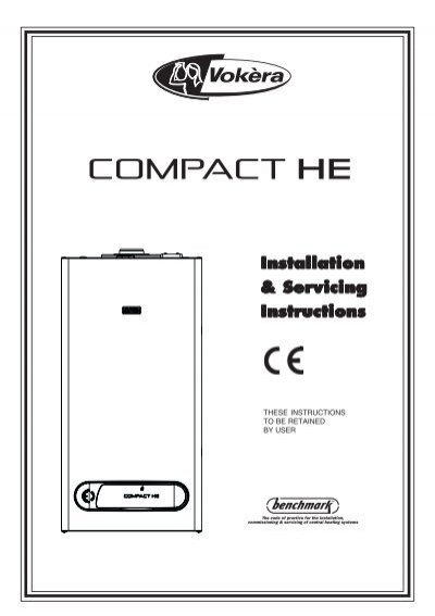 Vokera Compact 35 He Installation Manual Bhl