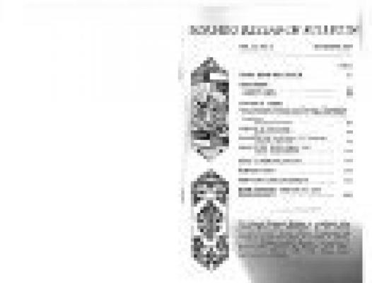 Volume 21 No 2 1989 Borneo Research Council