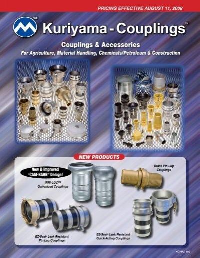 1//4 300 PSI 1//4 Kuriyama of America Inc. Brass Kuriyama QDAP-6FP Plug with Female Thread
