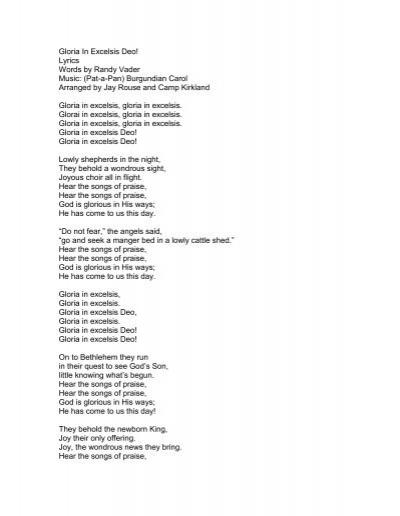 Pat a pan lyrics
