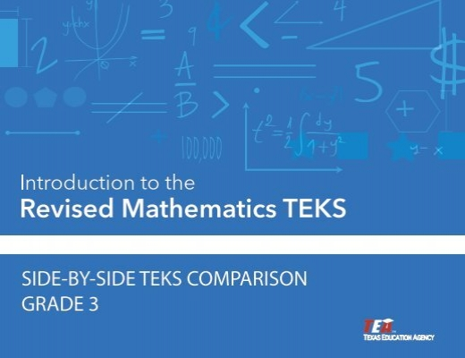 Staar and staar modified grade 3 math blueprint with teks side by side teks comparison grade 3 project share malvernweather Images