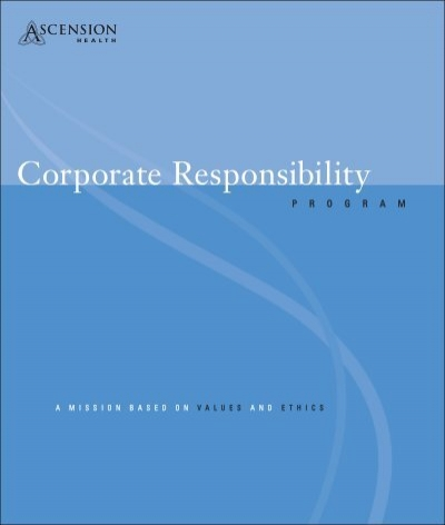 Corporate Responsibility Ascension Health
