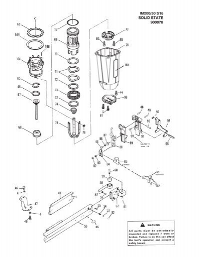 Paslode S200 S16 Parts Diagram - Trusted Wiring Diagram •