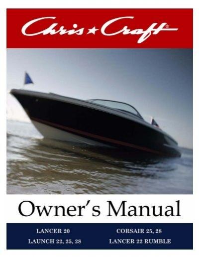catalina owner s manual chris craft rh yumpu com chris craft owners manual chris craft 283 engine manual