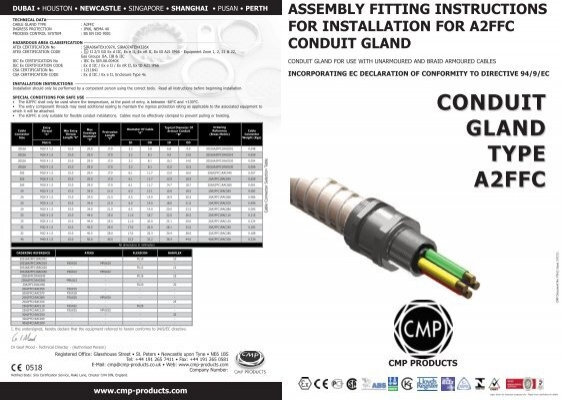 cmp cable gland catalogue pdf