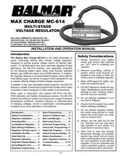 Balmar mc 614 wiring diagram wiring data max charge mc 614 manual balmar mc wiring 120 208 277 balmar mc 614 wiring diagram asfbconference2016 Gallery