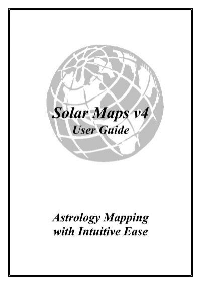 Solar Maps Astrolabe Astrology Software Reports Books And