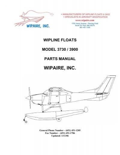 Cessna 182 parts manual