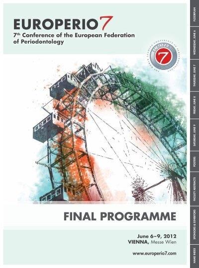 final program europerio 7