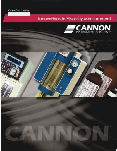 Cannon BS//IP//MSL-4 Miniature Suspended Level Calibrated Viscometer Size 4 Cannon Instrument 20 to 100 Centistokes Viscosity Range
