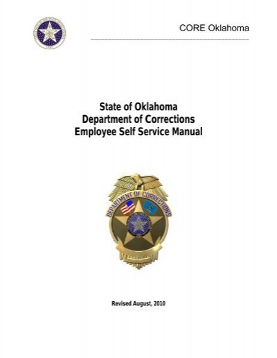 Peoplesoft Employee Self Service Manual Oklahoma Department