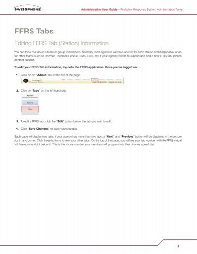 Programmiersoftware Swiss Phone Ffrs