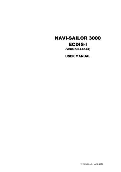 transas ns4000 operation manual pdf yachtronics rh yumpu com transas ns 4000 installation manual transas mfd 4000 installation manual