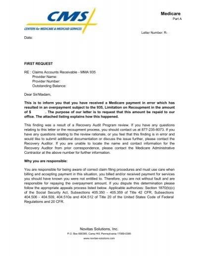 novitas j12- part a demand letter
