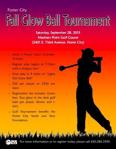 For 3 vs 3 basketball tournament registration form fall glow ball golf tournament flyer and registration foster city pronofoot35fo Gallery