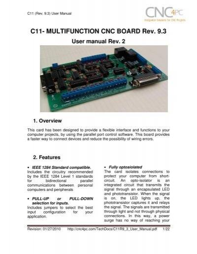c11 multifunction cnc board rev 9 3 stepper motor rh yumpu com Lewmar Windlass Wiring-Diagram Dell Studio XPS Desktop Wiring-Diagram