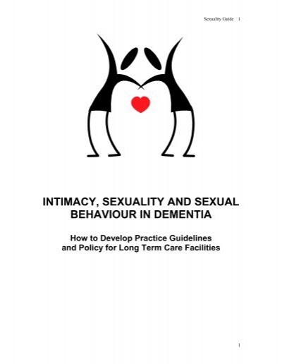 Sexualized behaviors dementia