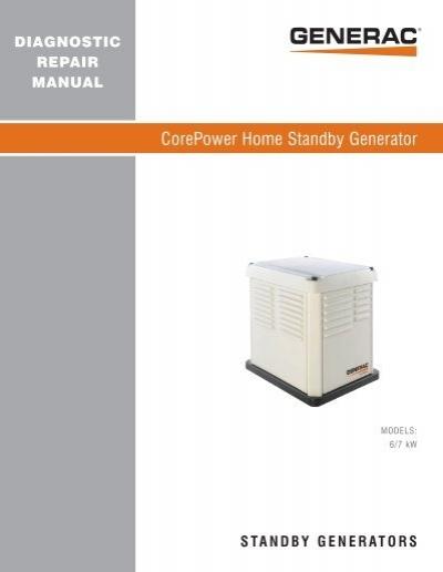 quietpact 40g diagnostic repair manual model 4700 generac parts rh yumpu com