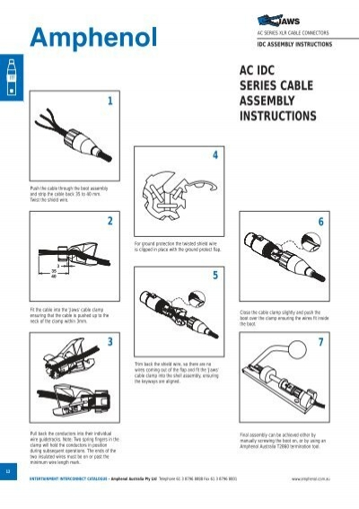 ac idc series cable assembly instructions pdf