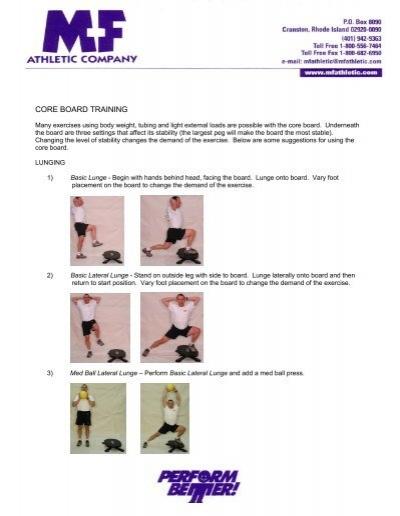 Obediente Bocadillo Revisión  Reebok Core Board Training Exercises - Perform Better