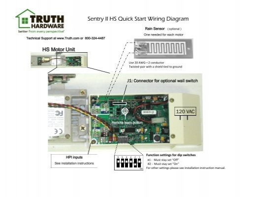 sentry ii hs start wiring diagram