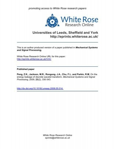 white rose research papers