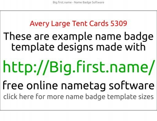 Name Badge Template Free from www.yumpu.com