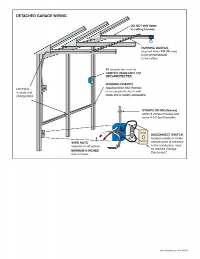 detached garage wiring dr detached garage plans with loft detached garage minimum electric diagram #41