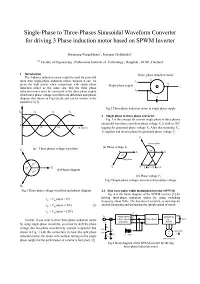 Single-Phase to Three-Phases Sinusoidal Waveform     - JSST