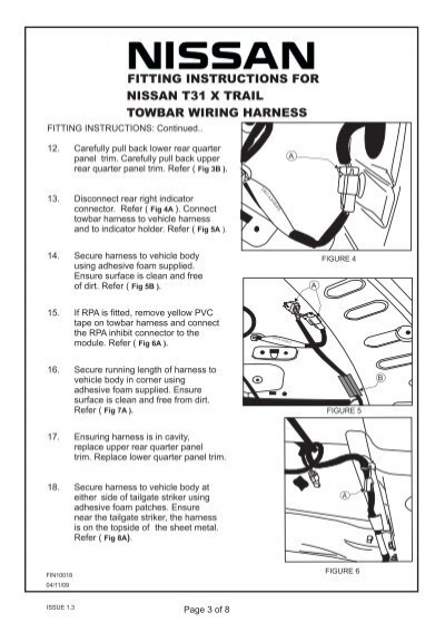 Fitting Instructions Fitt