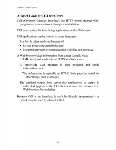A Brief Look at CGI with Perl - To DataJett com