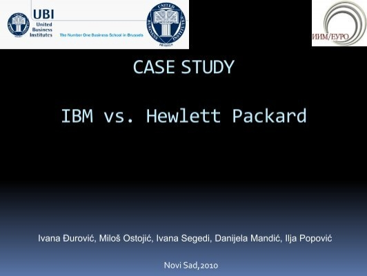 case study about ibm We continue our case study series on ibm, today delving into how a handful of operational value drivers work together to create an intrinsic value range for the company.