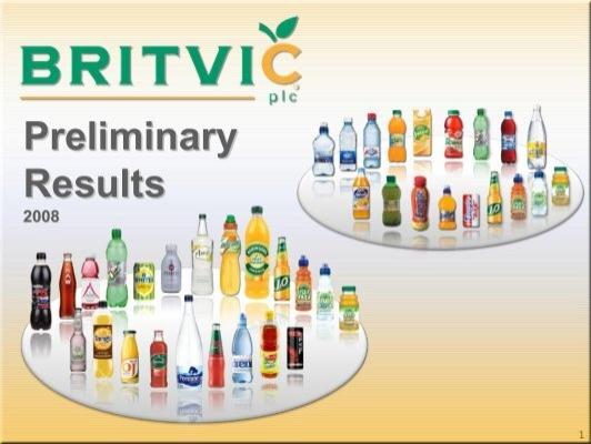 summary britvic creating a brand flavor