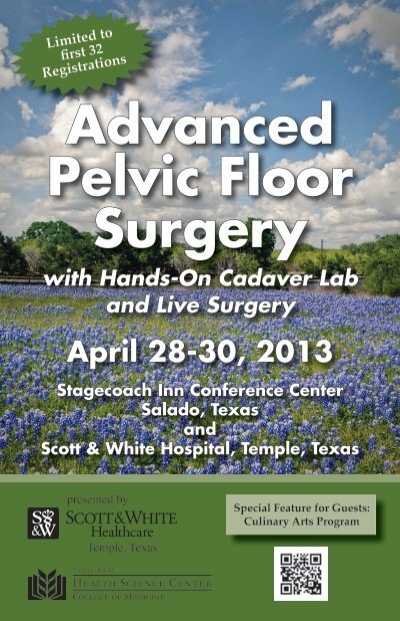 Advanced Pelvic Floor Surgery