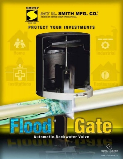 Brochure Flood Gate Automatic Backwater Valves Jay R