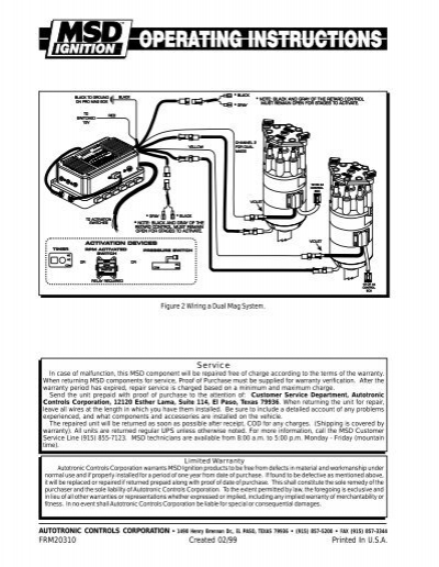 2 wiring diagram msd 8984 msd ignition, msd fuel pump, msd cable msd pro mag 12lt wiring diagram at gsmx.co