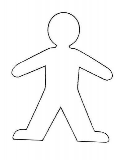 Please cut out either template for your Flat Stanley project To – Flat Stanley Template